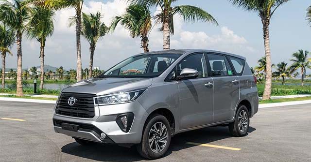 Giá xe Toyota Innova lăn bánh tháng 1/2021
