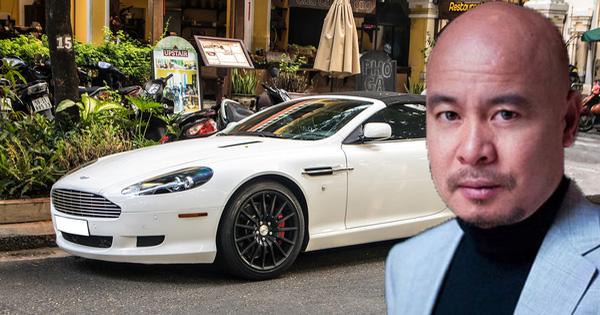 Aston Martin DB9 Volante từng của ông Đặng Lê Nguyên Vũ tái xuất trên phố Sài Gòn