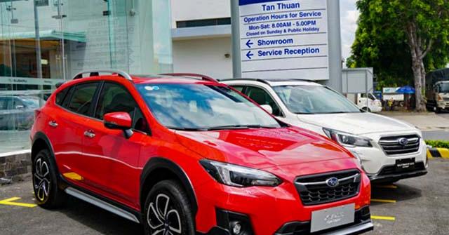 Bảng giá xe Subaru tháng 5/2020, không quá nhiều sự thay đổi