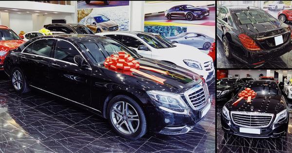 Kỷ niệm 15 năm cuộc hẹn đầu tiên, đại gia Hà Nội chi hơn 2,5 tỷ đồng tậu Mercedes-Benz S 400 tặng vợ ngày Valentine