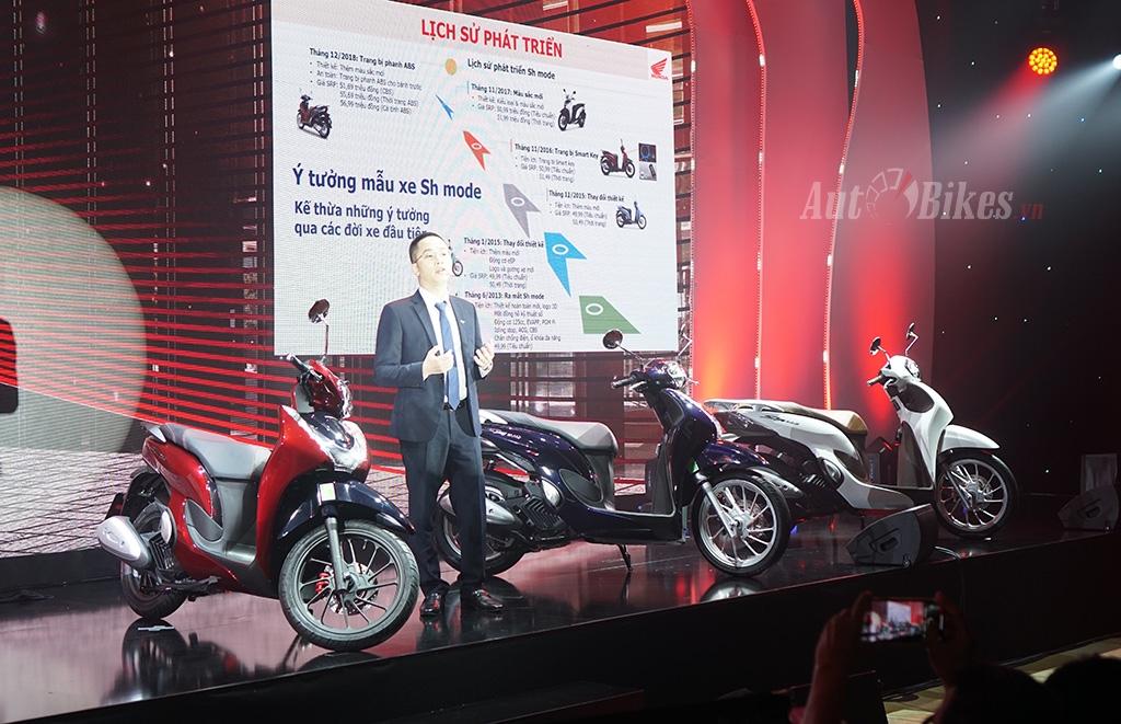 Honda SH mode 2021 giá từ 54 triệu đồng