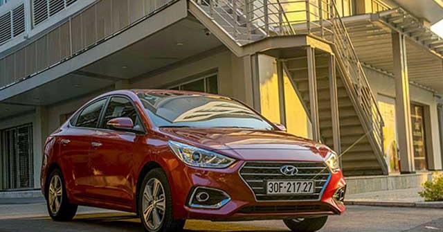 Doanh số bán ra của Hyundai Việt Nam trong tháng 8/2020