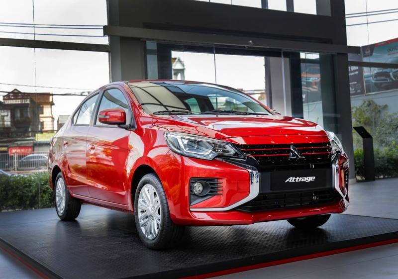 Mitsubishi Attrage 2020 giá từ 375 triệu đồng tại Việt Nam