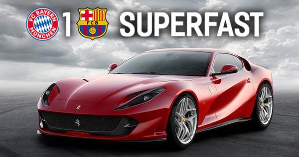 Loạt ảnh chế tên xe hài hước về thất bại khó tin của Barcelona trước Bayern Munich