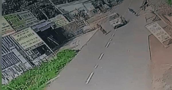 Ô tô đột ngột bẻ lái, đâm người phụ nữ bất tỉnh rồi bỏ chạy, tài xế bị bắt sau hơn 20km truy đuổi
