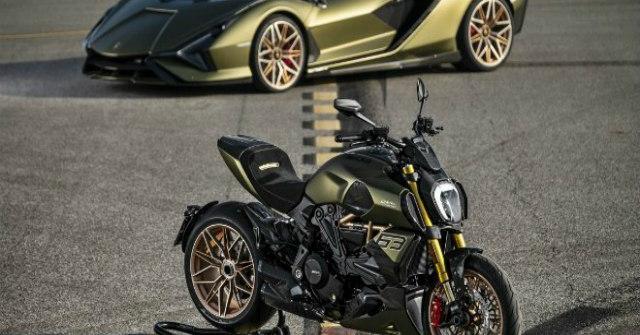 """""""Siêu bò"""" Ducati Diavel 1260 Lamborghini Edition ra mắt, số lượng siêu hiếm"""