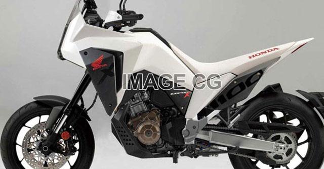 Honda CRF1100X lộ ảnh thiết kế: Dân phượt thích mê