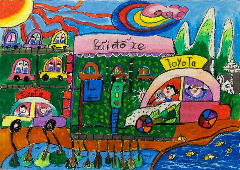 Toyota Việt Nam công bố kết quả cuộc thi vẽ tranh 'Chiếc ô tô mơ ước' lần thứ 10
