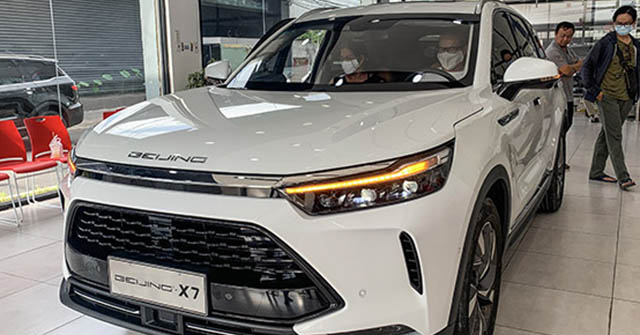 Xe Trung Quốc Beijing X7 sụt giảm doanh số thảm hại ở quê nhà