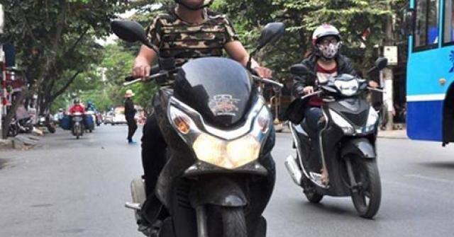Đèn nhận diện ban ngày trên xe máy giúp giảm 30% tai nạn giao thông