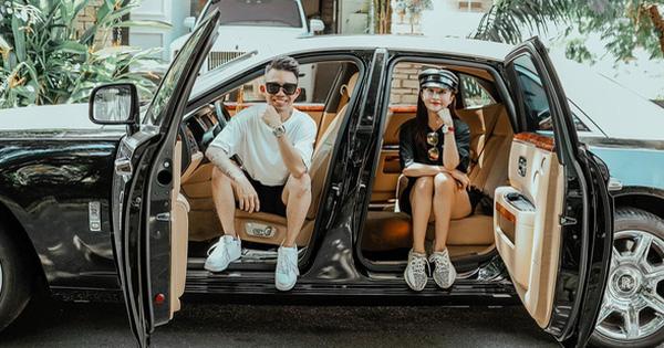 Minh Nhựa và vợ khoe ảnh bên xe Rolls-Royce 50 tỷ, dân tình thích thú khi thấy cả Wowy cũng vào comment