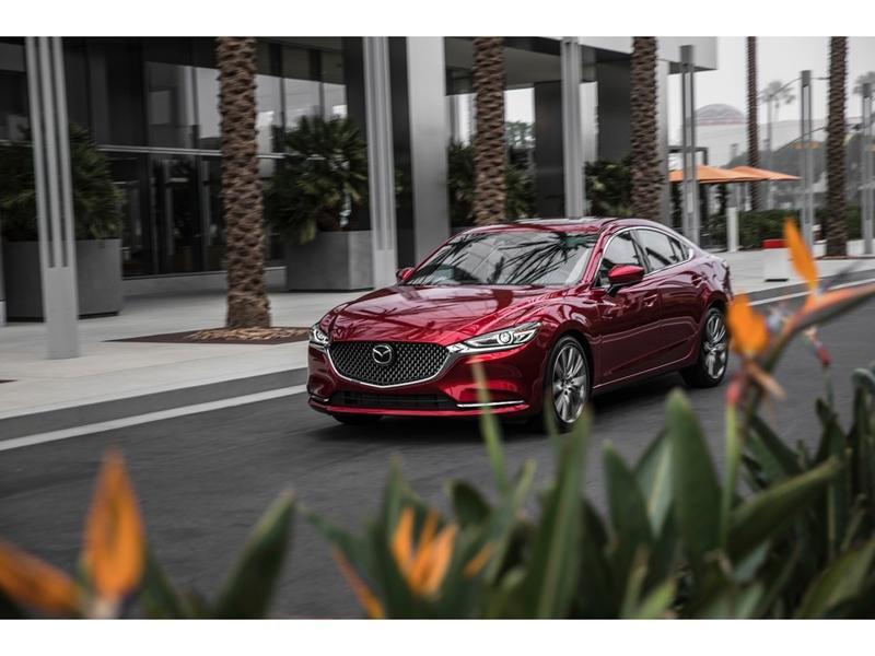 Mazda6 2020 lộ diện, chờ đấu Toyota Camry