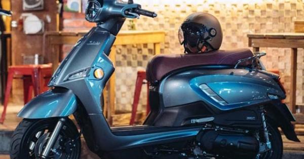 Suzuki Saluto 125 sẽ sớm về Việt Nam: Airblade có thêm nỗi lo