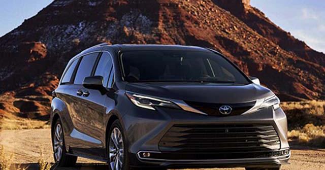 Toyota chính thức giới thiệu dòng xe MPV gia đình Sienna thế hệ mới