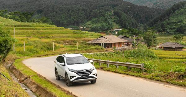 Đuổi theo mùa vàng Mù Cang Chải cùng Toyota Rush