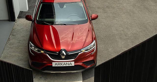 Soi chi tiết xe Renault Arkana chính hãng tại Việt Nam