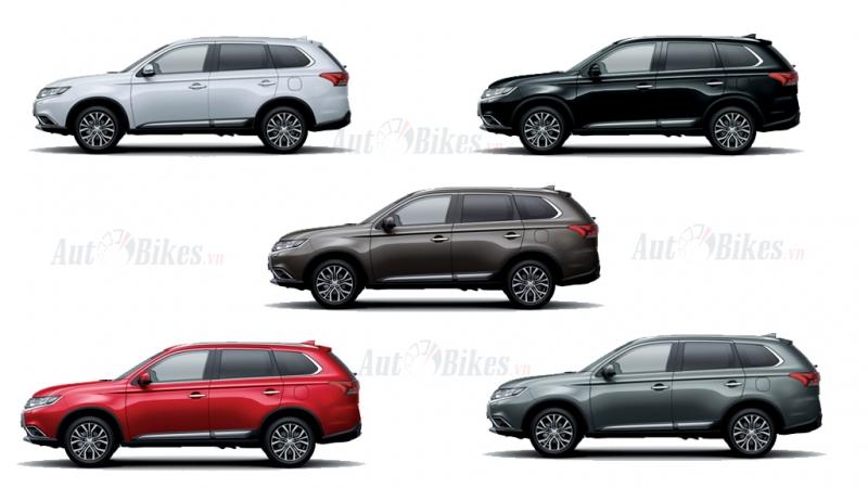 Hình ảnh chi tiết Mitsubishi Outlander 2020