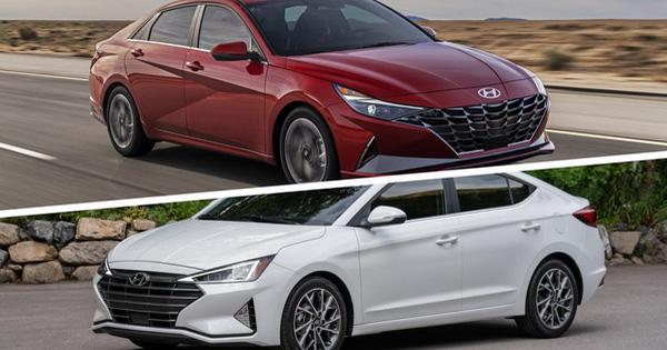 So sánh Hyundai Elantra 2021 vs 2019: Chưa đầy 2 năm đã khác xa bản cũ