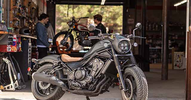 Honda Rebel 500 2020 trình làng tại Việt Nam: Giá 180 triệu đồng