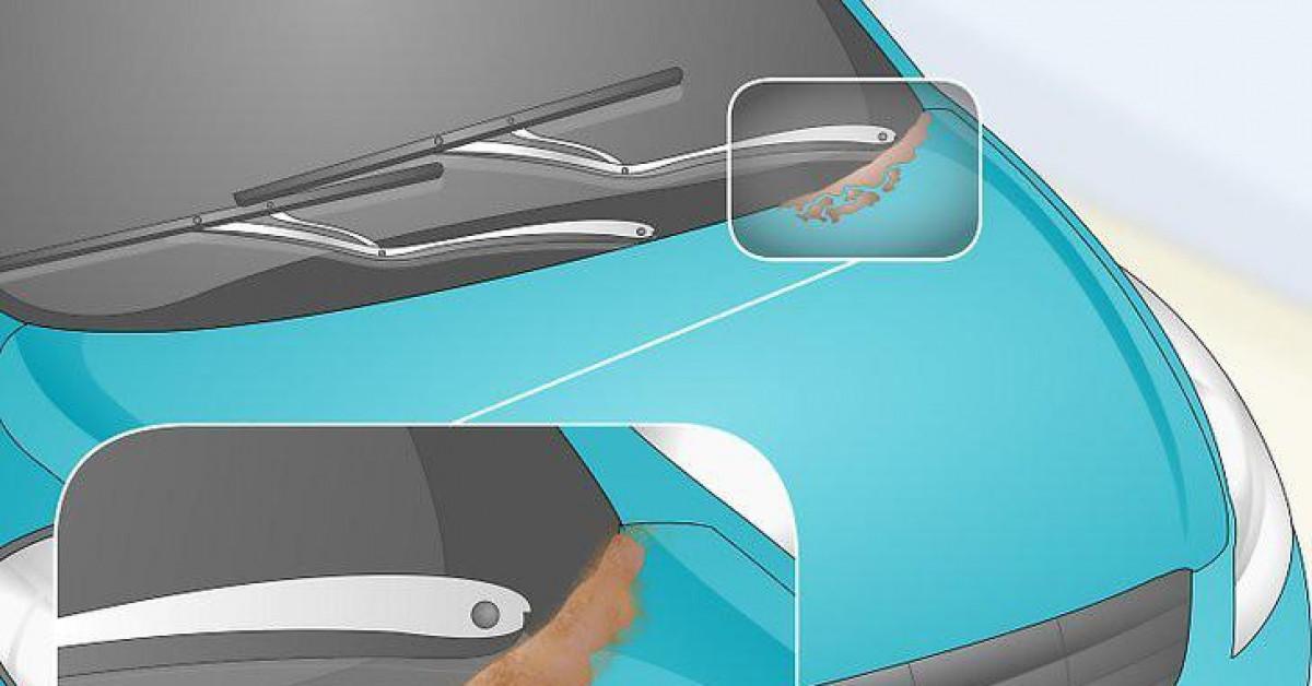 Cách sửa chữa vết rỉ sét nhỏ trên ô tô