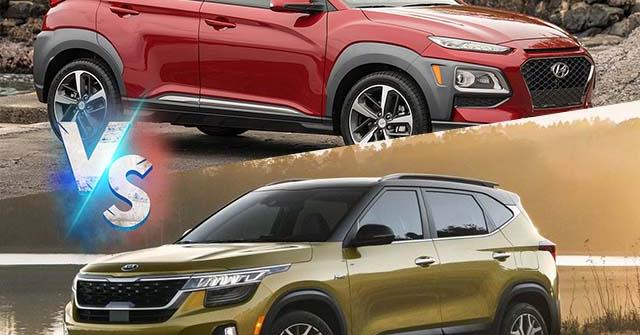 """Hyundai Kona vs KIA Seltos: """"Tân binh"""" đấu """"kẻ đứng đầu"""" trong phân khúc 700 triệu"""