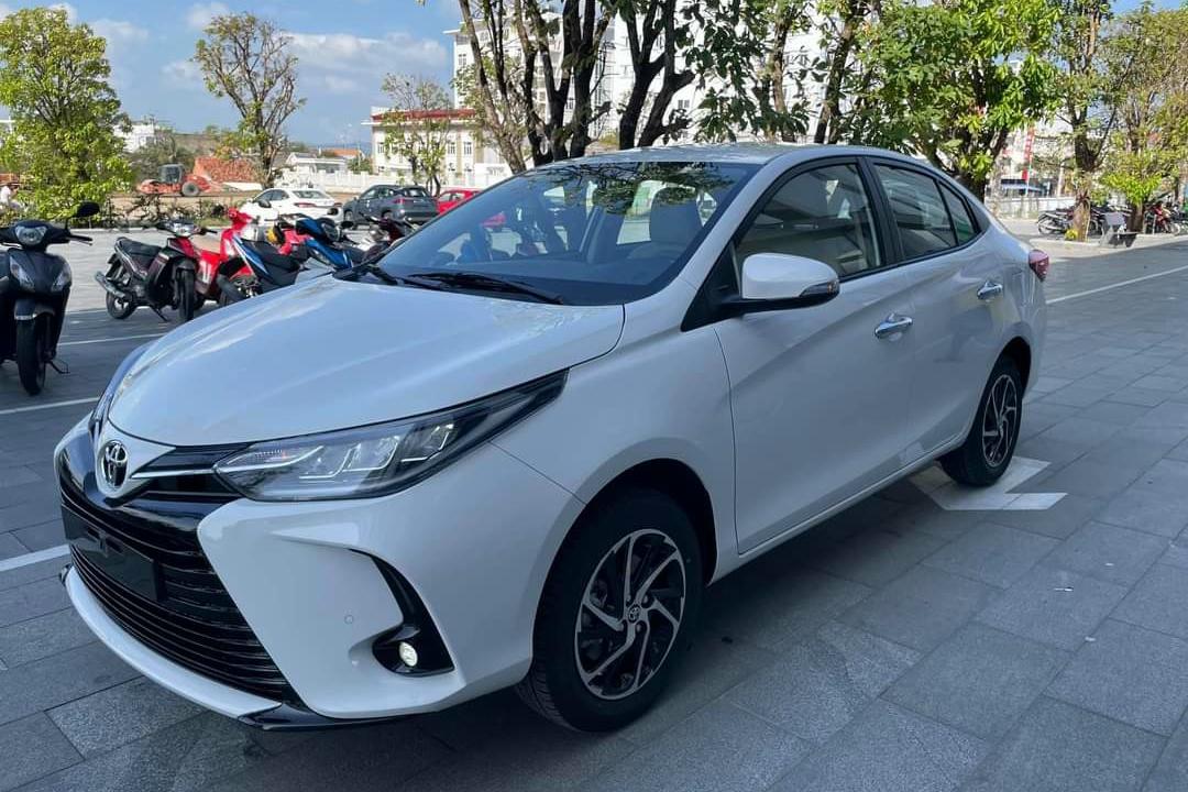 Giá Toyota Vios 2021 tăng 10 triệu đồng ?
