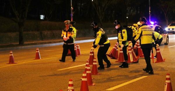 Không thổi nồng độ cồn vì COVID-19, tài xế Hàn Quốc bị test chiêu bài dị để xác định có say hay không
