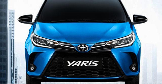 Toyota Yaris phiên bản nâng cấp chính thức có mặt tại Thái
