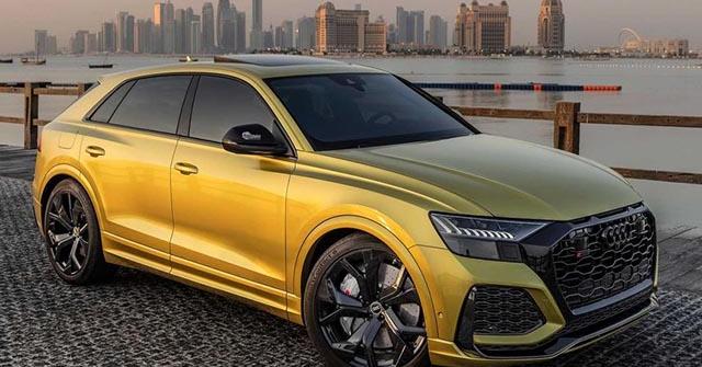 """""""Hàng thửa"""" Audi RS Q8 Qatar Edition về tay đại gia Trung Đông"""