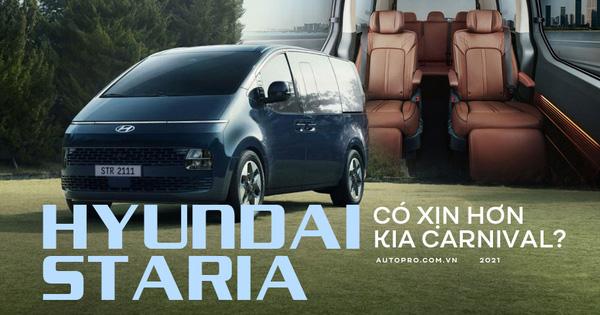 Bóc tách Hyundai Staria: To và