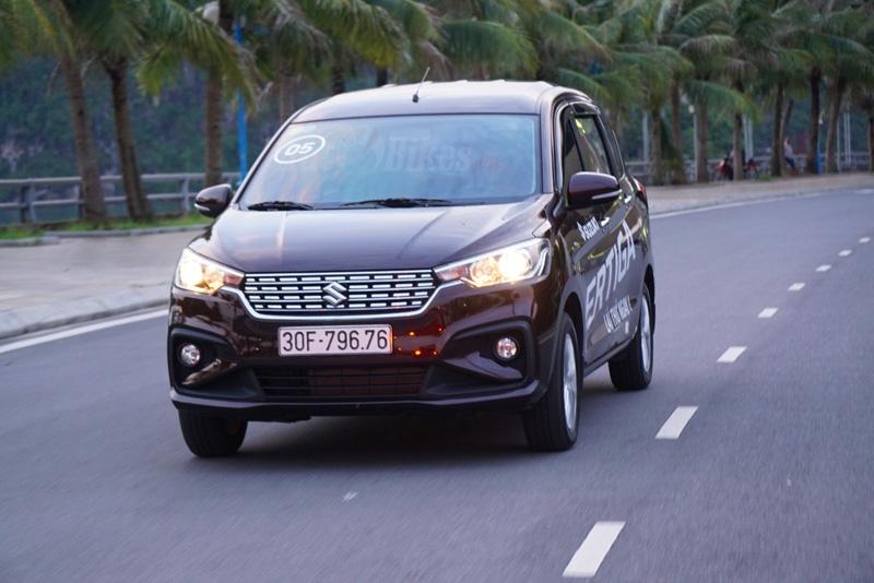Suzuki Ertiga giảm giá 40 triệu đồng, dồn sức đấu Mitsubishi Xpander