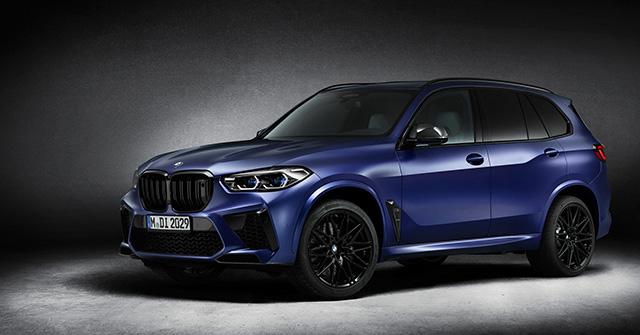BMW ra mắt bộ đôi đặc biệt dành cho dòng xe X5M và X6M