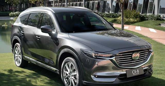 Giá xe Mazda CX-8 lăn bánh tháng 10/2020, ưu đãi chính hãng 35 triệu đồng