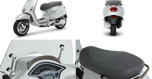 2021 Vespa Sprint 150 i-Get ABS bản đặc biệt, đẹp tinh khôi