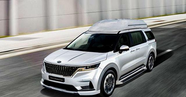 KIA Sedona thêm phiên bản Limousine, giá 1,2 tỷ đồng