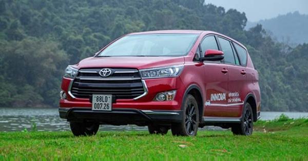 Toyota Innova dọn kho giảm giá gần 140 triệu đồng tại một số đại lý