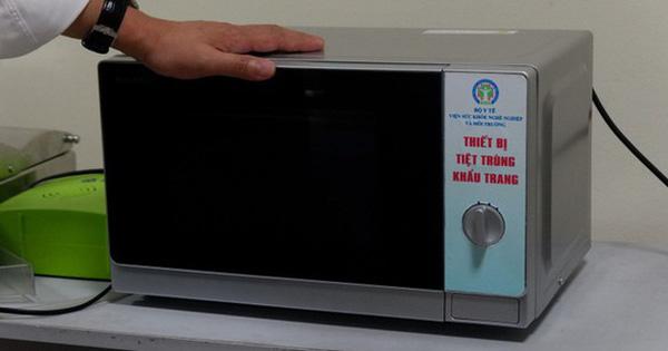 Cần biết: 3 cách khử khuẩn khẩu trang phòng dịch COVID-19 bằng lò vi sóng