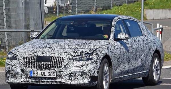 Mercedes-Benz S-Class 2021 bắt gặp trên đường thử và lộ ảnh trang bị nội thất