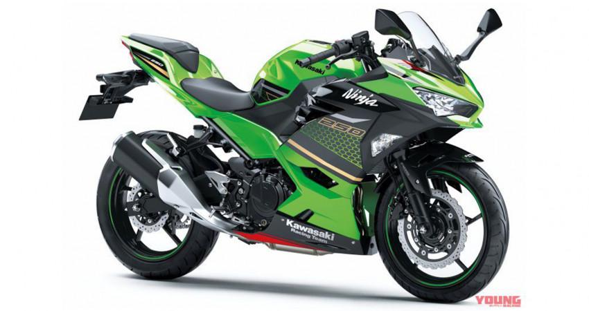 Kawasaki Ninja 250 2020 bắt mắt hơn với màu và tem mới