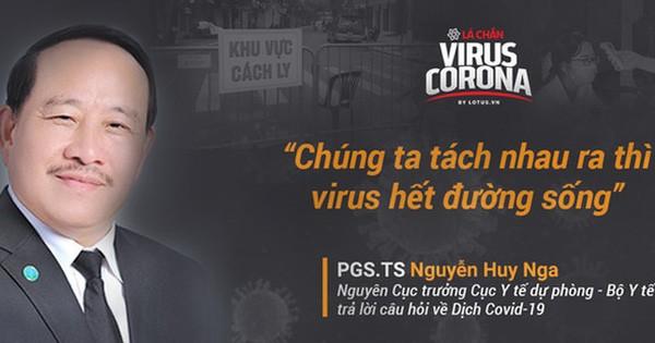 Nguyên Cục trưởng Cục Y tế dự phòng chỉ cách khiến virus gây ra Covid-19