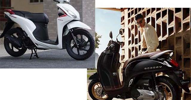 Nên mua Honda Vision hay Scoopy 110 nhập khẩu trong tầm giá 40 triệu?