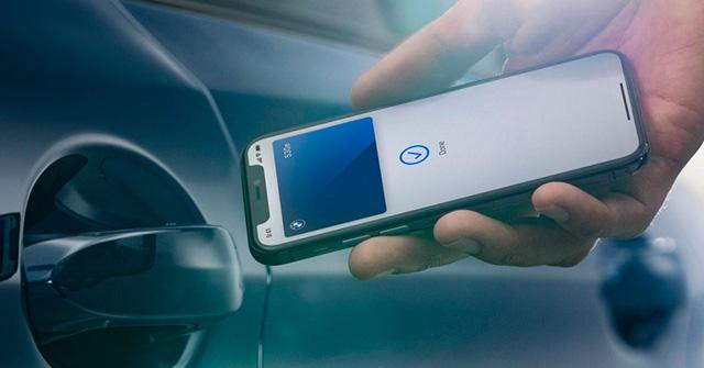 Chìa khóa kỹ thuật số dành cho xe ô tô được Apple phát triển