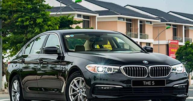 Xe sedan BMW 520i giảm giá gần 400 triệu đồng, cạnh tranh Mercedes-Benz E-Class
