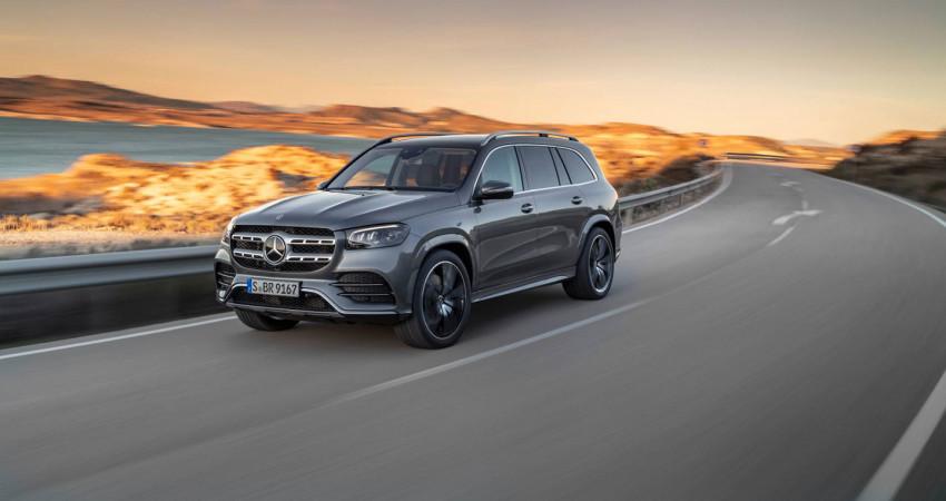 Mercedes-Benz GLS 450 2020 chốt giá từ 76.195 USD