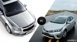 Chevrolet Cruze 2015 và Toyota Corolla Altis 2014: Cuộc so tài của Mỹ - Nhật