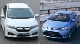 Honda City và Toyota Vios: Cuộc đua phân khúc sedan hạng B