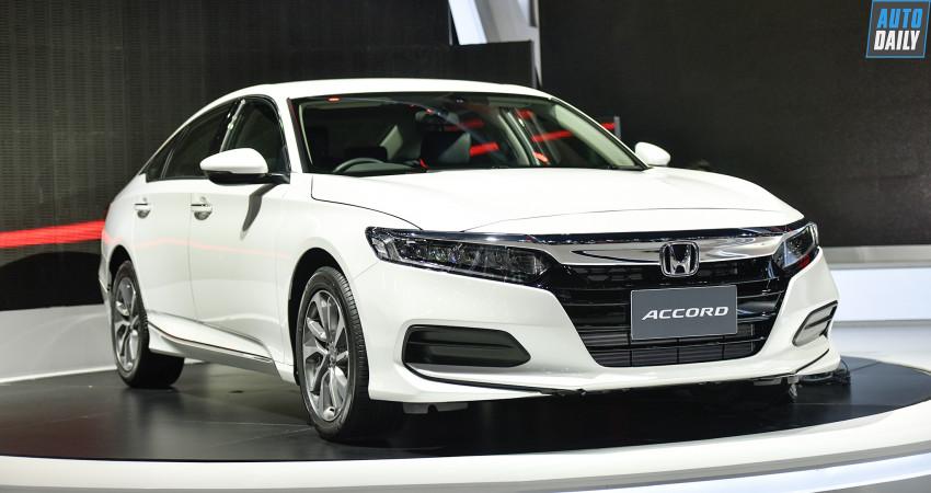 Honda Accord thế hệ thứ 10 sắp ra mắt tại Việt Nam