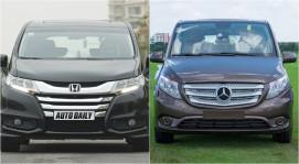 Chọn Honda Odyssey hay Mercedes Vito Tourer 121?