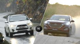 Chọn Mitsubishi Outlander Sport hay Hyundai Tucson?