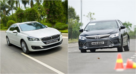 Chọn Peugeot 508 hay Toyota Camry?